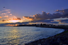 Nessebar sunrise Royalty Free Stock Photography