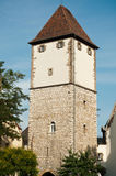 Nessel tower,  in Mulhouse Stock Image