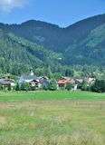 Nesselwaengle,Tannheimer Tal,Tirol,Austria Royalty Free Stock Photography