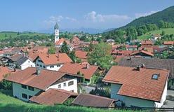 Nesselwang, Allgaeu, Germania Immagini Stock