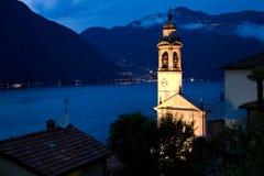 Nesso, озеро Como, Италия Стоковое фото RF