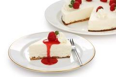 Nessun cuocia la torta di formaggio Fotografia Stock Libera da Diritti