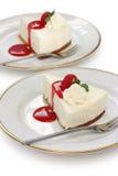 Nessun cuocia la torta di formaggio fotografie stock libere da diritti