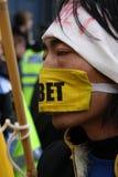 Nessun discorso libero Fotografia Stock Libera da Diritti