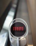 Nessun entri nel sinage sulla scala mobile automatica Fotografie Stock