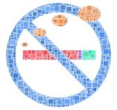 Nessun fumo per favore!!! Fotografia Stock