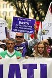 Nessun giorno 2 di Berlusconi Immagine Stock