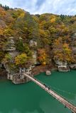 A nessun Hetsuri Fukushima Japan fotografia stock libera da diritti