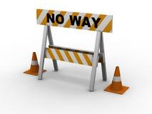 Nessun modo! royalty illustrazione gratis