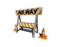 Nessun modo! illustrazione di stock