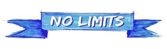 nessun nastro di limiti illustrazione vettoriale