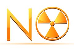 Nessun nucleare Immagini Stock