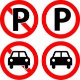 Nessun parcheggio illustrazione vettoriale