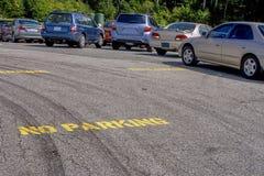 Nessun parcheggio Immagine Stock