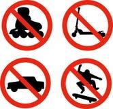 Nessun pattinatore dell'automobile del motorino della lamierina del rullo illustrazione vettoriale