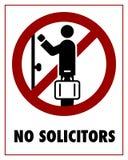 Nessun procuratori legali Fotografia Stock Libera da Diritti