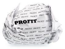 Nessun profitto - nessuna vittoria fotografia stock libera da diritti