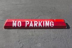 Nessun punto di parcheggio Immagini Stock Libere da Diritti