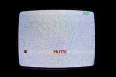 Nessun segnale della TV Fotografia Stock