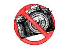 Nessun segno delle foto Fotografia Stock Libera da Diritti
