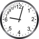 Nessun tempo che è tardi si affretta la metafora della gestione di tempo illustrazione vettoriale