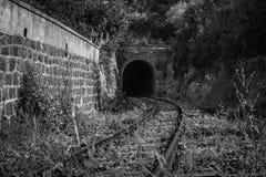 Nessun treni qui Fotografie Stock