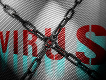Nessun virus Fotografie Stock Libere da Diritti