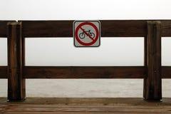 Nessuna bici Fotografia Stock Libera da Diritti