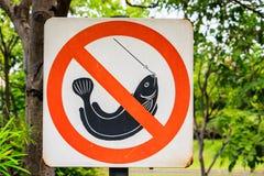 Nessuna pesca Fotografie Stock