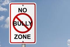 Nessuna zona del Bully Fotografie Stock Libere da Diritti