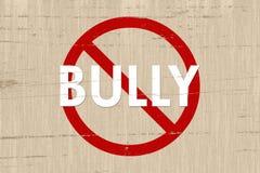 Nessuna zona del Bully Fotografie Stock