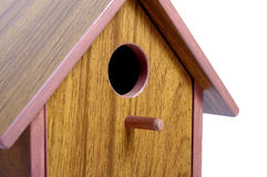 Nest box birdhouse, detail Royalty Free Stock Photos