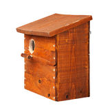 Nest box isolated on white background Royalty Free Stock Photography
