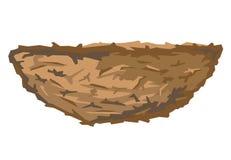 Nest des Vogels Stockbild