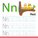 Nest drawing line vector design royalty free illustration