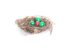 Nest for easter Stock Photo