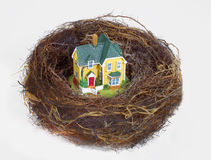 NEST EGG SAVING RETIREMENT FUND FINANCIAL WEALTH PLANNING Royalty Free Stock Image