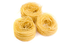 Nest pasta Stock Photos