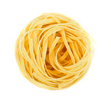 Nest pasta View from top Royalty Free Stock Photography