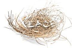 Nest und Frieden Lizenzfreie Stockbilder