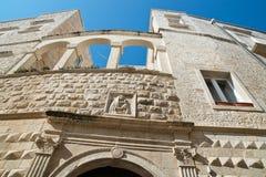 Nesta Palace. Molfetta. Puglia. Italy. Stock Image