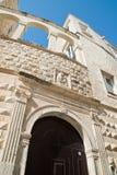 Nesta Palace. Molfetta. Puglia. Italy. Stock Photography