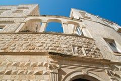 Nesta Palace. Molfetta. Puglia. Italy. Stock Images