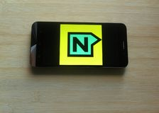 Nestaway app royalty-vrije stock fotografie