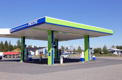 Neste gas station Stock Images