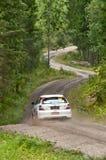 Neste Oil Rally Finland 2011 Stock Photos