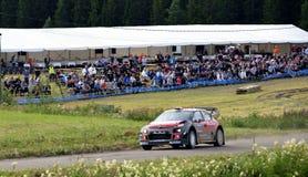 Neste Rally 2017, Ouninpohja 1 Stock Image