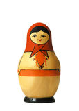 Nested doll. Russian nested doll Royalty Free Stock Images