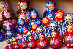 Nested dolls Royalty Free Stock Photography