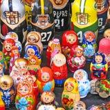 Nested Dolls Royalty Free Stock Image